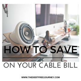 HOW TO SAVE ON YOUR CABLE BILL