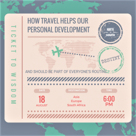 HOW TRAVEL HELPS OUR PERSONAL DEVELOPMENT AND SHOULD BE PART OF EVERYONE'S ROUTINE