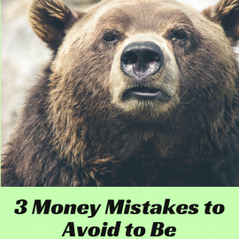 3 MONEY MISTAKES TO AVOID TO BE DEBT FREE